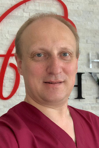 Dr. Siarhei Cheshyk D.O.M.P., MD (International) – Osteopath